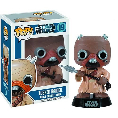 Star Wars Tusken Raider Pop! Vinyl Bobble Head