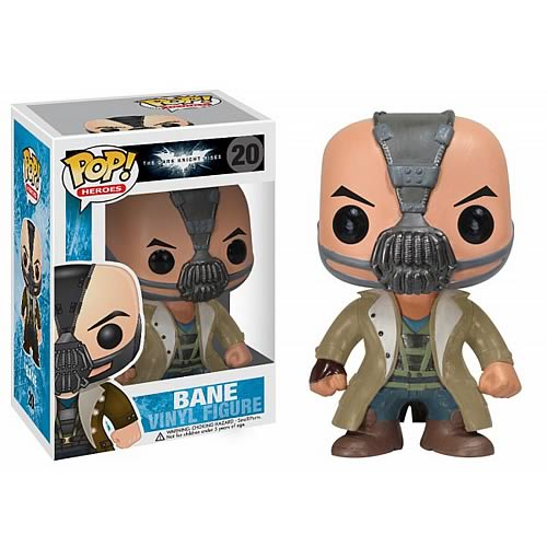 Dark Knight Rises Bane Pop! Heroes Vinyl Figure