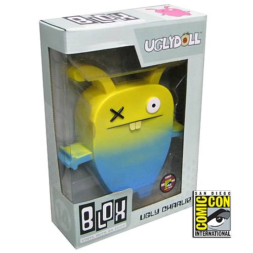 Uglydoll Ugly Charlie SDCC 2012 Exclusive Blox Vinyl Figure