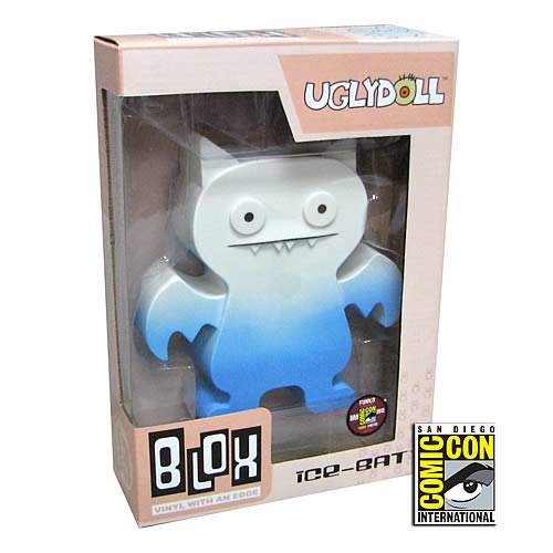 Uglydoll Ice Bat SDCC 2012 Exclusive Blox Vinyl Figure