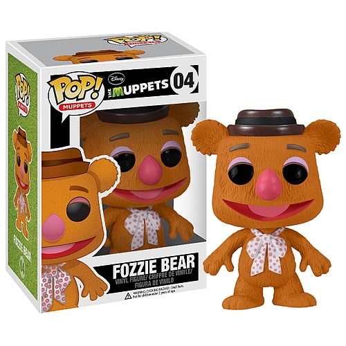 Muppets Fozzie Bear Pop! Vinyl Figure