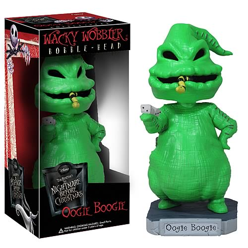 Nightmare Before Christmas Oogie Boogie Bobble Head