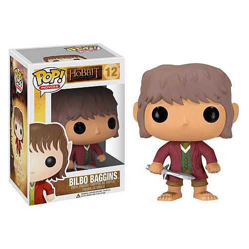 The Hobbit Bilbo Baggins Pop! Vinyl Figure