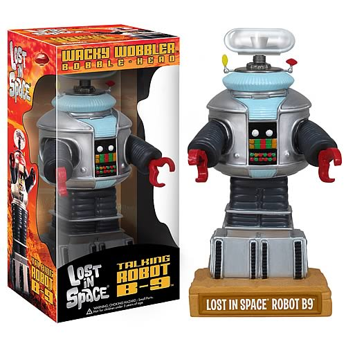 Lost in Space Talking B-9 Bobble Head