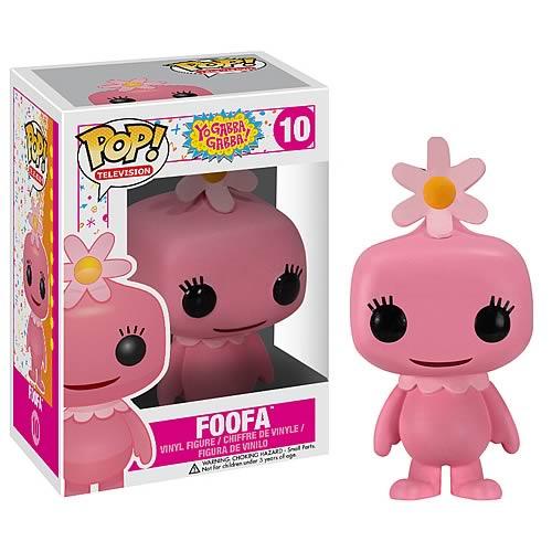 Yo Gabba Gabba Foofa Pop! Vinyl Figure