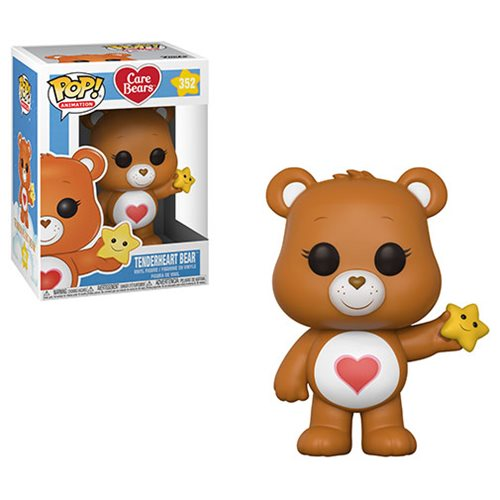 Care Bears Tenderheart Bear Pop! Vinyl Figure #352