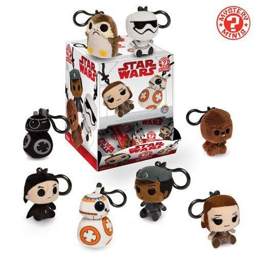 Star Wars: The Last Jedi Plush Key Chain Random 3-Pack
