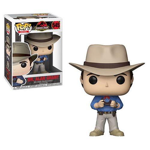 Jurassic Park Dr. Alan Grant Pop! Vinyl Figure