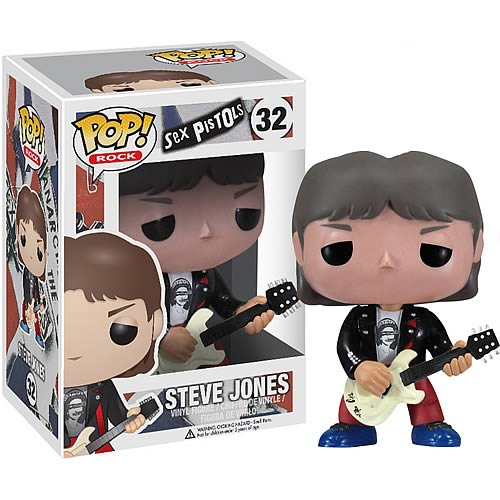 Sex Pistols Steve Jones Rock Pop! Vinyl Figure