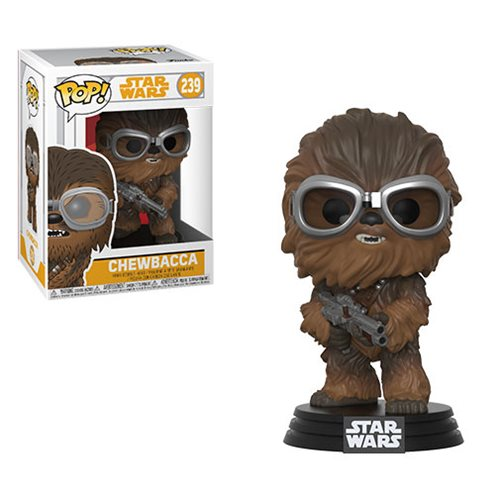 Star Wars Solo Chewbacca Pop! Bobble Head