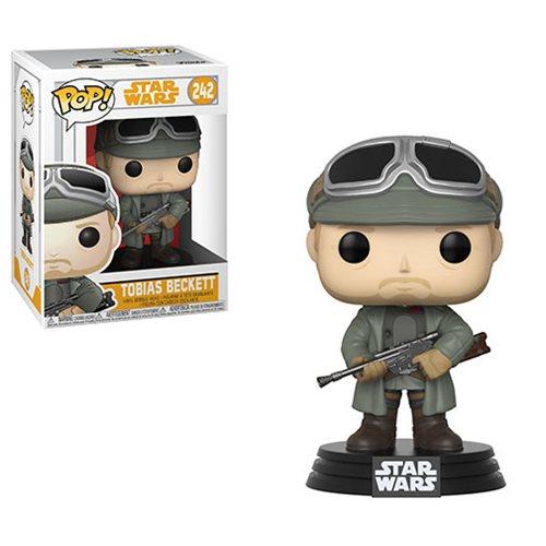 Star Wars Solo Tobias Beckett Pop! Bobble Head, Not Mint