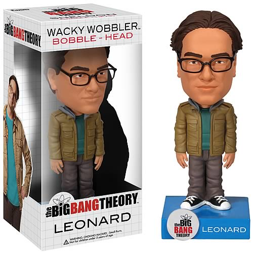 Big Bang Theory Leonard Hofstadter Bobble Head