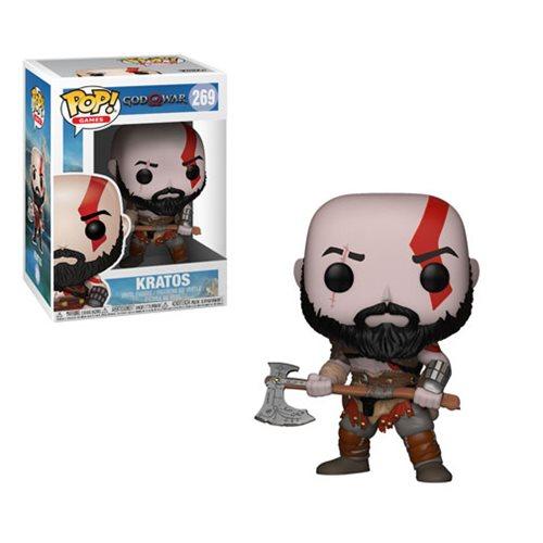 God of War Kratos with Axe Pop! Vinyl Figure #269