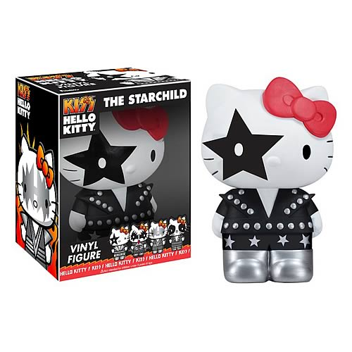 Hello Kitty KISS Starchild Pop! Vinyl Figure