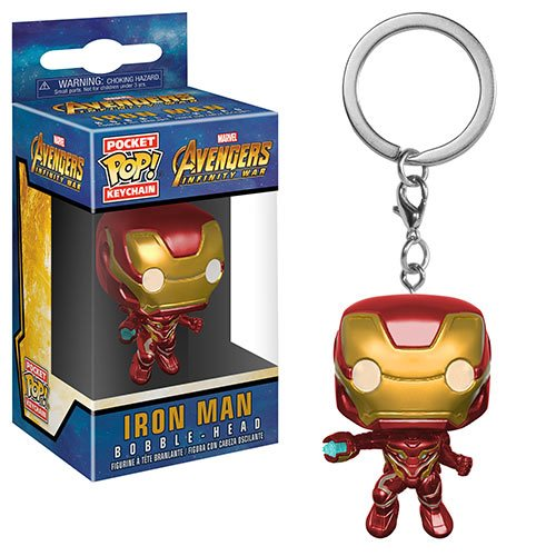 Avengers: Infinity War Iron Man Pocket Pop! Key Chain