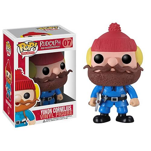 Rudolph Red-Nosed Reindeer Yukon Cornelius Pop! Vinyl Figure