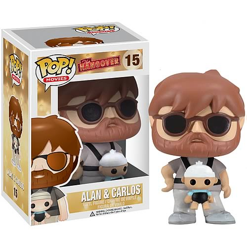 Hangover Alan with Carlos Movie Pop! Vinyl Figure