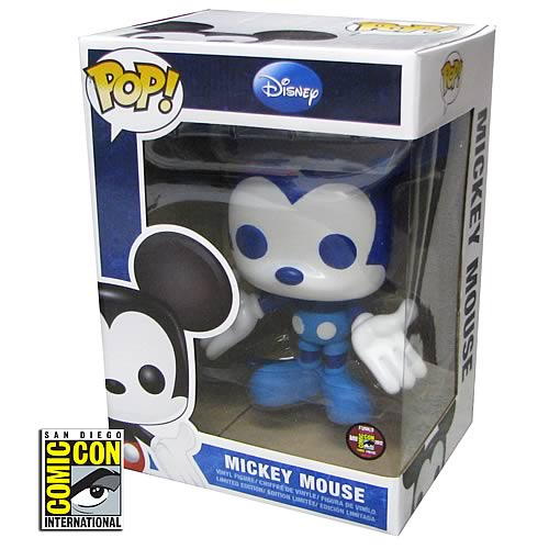 Mickey Mouse SDCC 2012 Exclusive Disney Pop! Vinyl, Not Mint