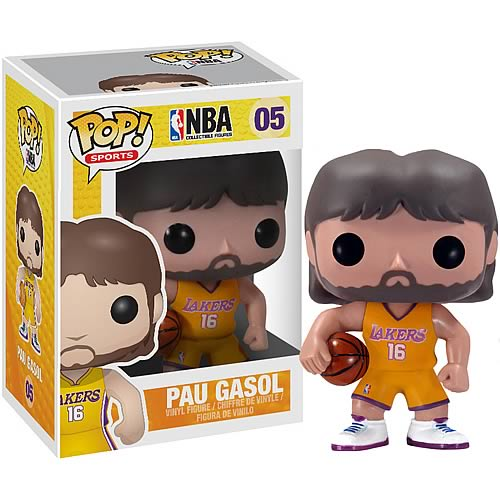NBA Series 1 Pau Gasol Pop! Vinyl Figure