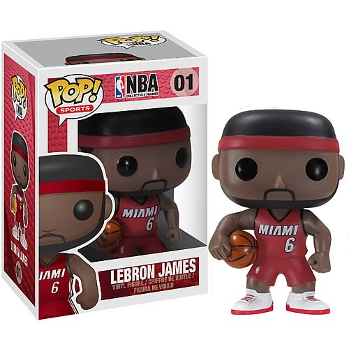 NBA Series 1 LeBron James Pop! Vinyl Figure