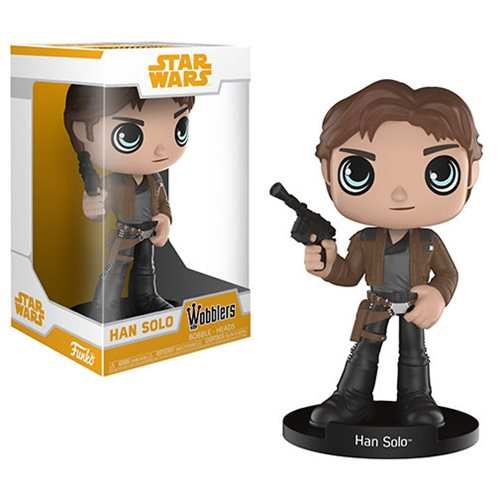 Star Wars Solo Han Solo Wobbler Bobble