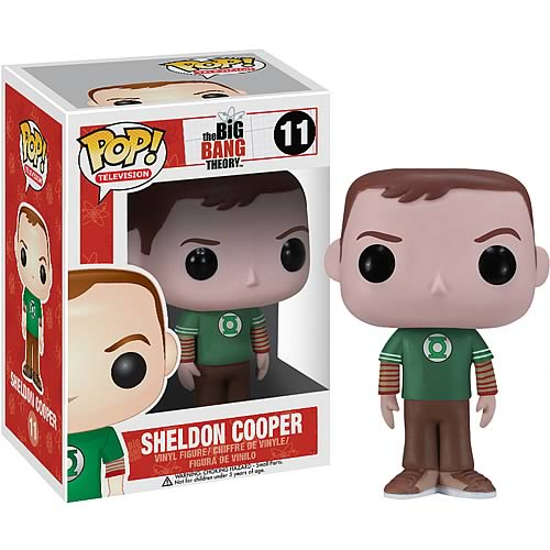 Big Bang Theory Sheldon Green Lantern Pop! Vinyl Figure