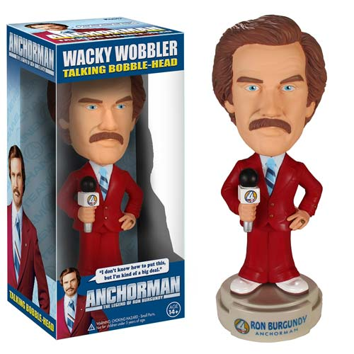 Anchorman the Legend of Ron Burgundy Bobble Head