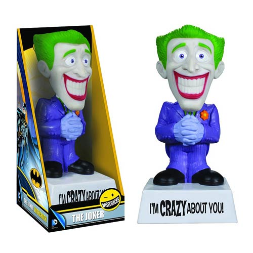 Batman Joker Wacky Wisecracks I'm Crazy About You! Figure