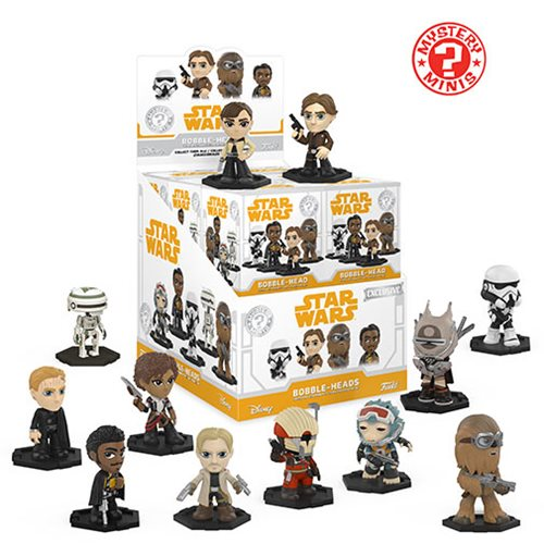 Star Wars Solo Mystery Minis Random 4-Pack