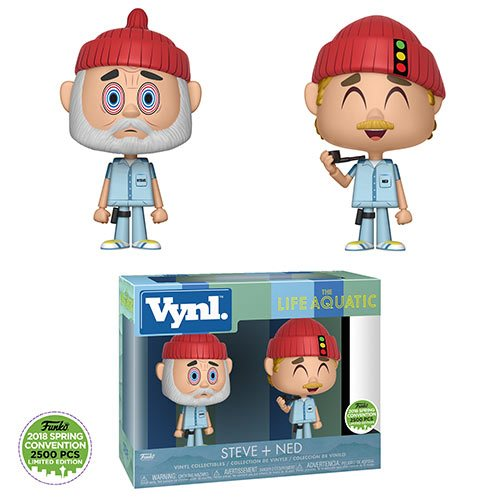 Life Aquatic with Steve Zissou Steve & Ned VYNL 2-Pack Excl.