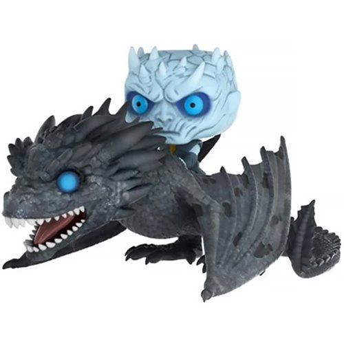 GOT Viserion Pop! Ridez with Night King Figure, Not Mint