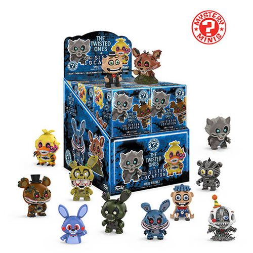 Five Nights at Freddys Mystery Minis Display Box