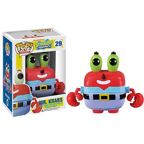 SpongeBob SquarePants Mr. Krabs Pop! Vinyl Figure