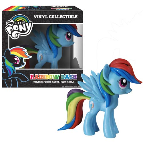 My Little Pony Friendship Is Magic Rainbow Dash Vinyl Figure