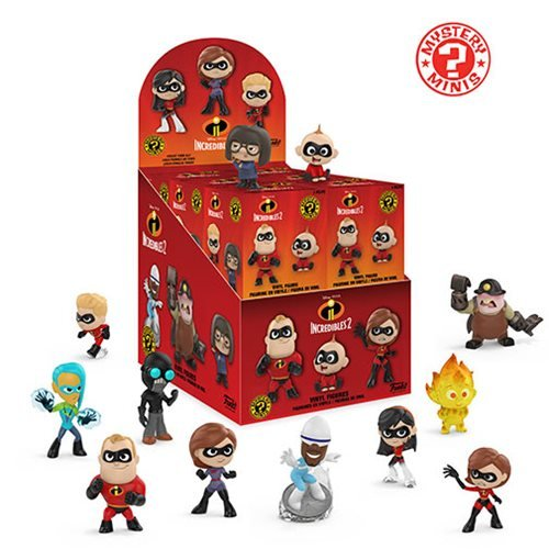 Incredibles 2 Mystery Minis Display Case