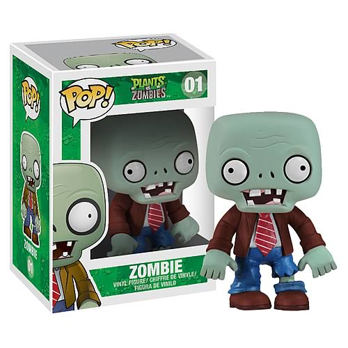 Plants vs. Zombies Regular Zombie Pop! Vinyl Figure