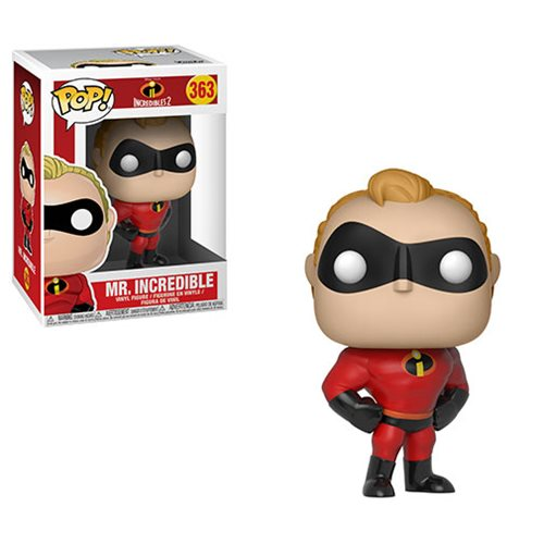 Incredibles 2 Mr. Incredible Pop! Vinyl Figure #363