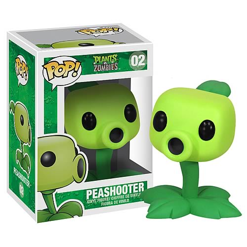 Plants vs. Zombies Peashooter Pop! Vinyl Figure