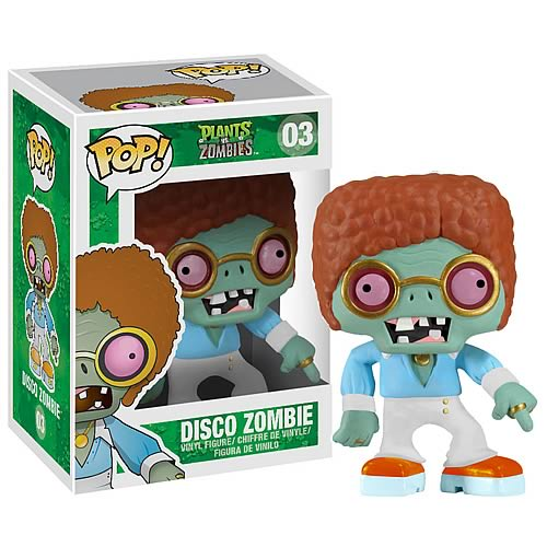 Plants vs. Zombies Disco Zombie Pop! Vinyl Figure