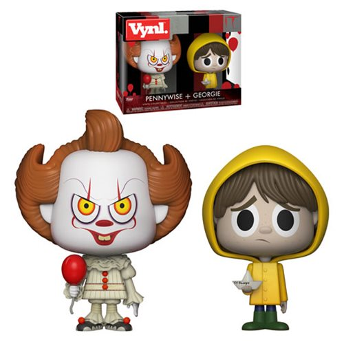 It Pennywise and Georgie VYNL Figure 2-Pack