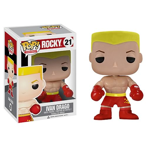 Rocky Ivan Drago Pop! Vinyl Figure