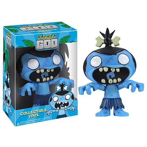 Pocket God Zombie Pygmy Vinyl Figure