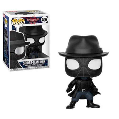 Spider-Man: Into Spider-Verse Spider-Man Noir Pop! Vinyl