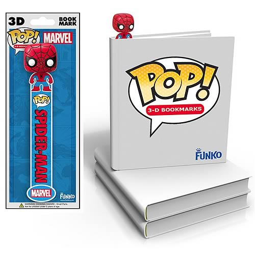 Spider-Man Mini-Pop! 3-D Bookmark