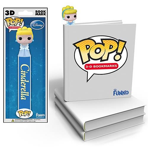 Disney Cinderella Princess Cinderella Mini-Pop! 3-D Bookmark