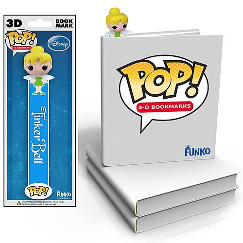 Peter Pan Tinkerbell Mini-Pop! 3-D Bookmark