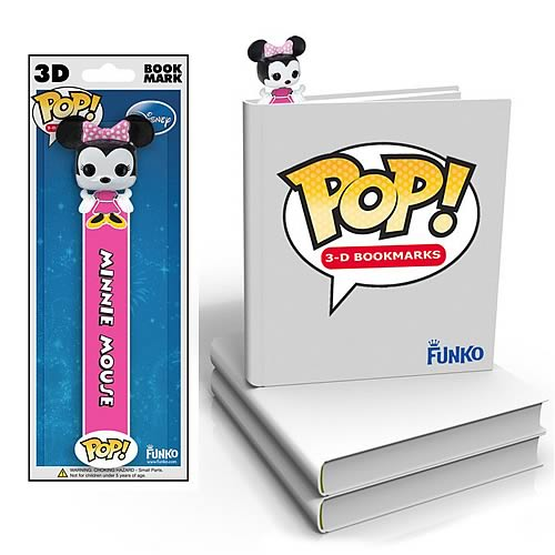 Minnie Mouse Disney Pop! Vinyl Figure 3-D Bookmark