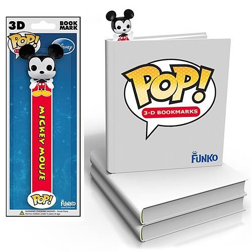Mickey Mouse Disney Pop! Vinyl Figure 3-D Bookmark