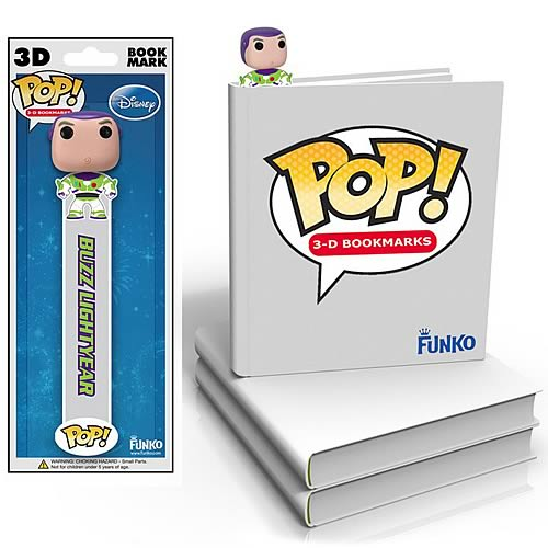 Toy Story Buzz Lightyear Disney Pop! Vinyl Figure Bookmark