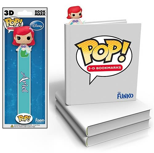 Little Mermaid Ariel Mini-Pop! 3-D Bookmark